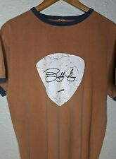 BUDDY GUY Legends Chicago Support Your Local Blues Club T-shirt Mens XL Orange