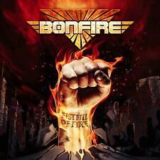 BONFIRE - FISTFUL OF FIRE CD ALBUM NEW PHD (3RD APRIL)