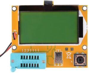LCR-T4 Transistor Tester Kondensator ESR Induktivität Widerstand Meter Mega328
