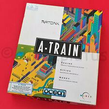 Commodore Amiga A-Train Big Box Vintage Computer Strategiespiel Maxis Ozean