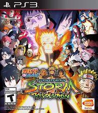 Naruto Shippuden: Ultimate Storm Revolution (Sony PlayStation 3, 2014) no manual