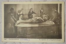 """CPA """" PLOUGUERNEAU - La sépulture de la Chapelle St Joseph"""