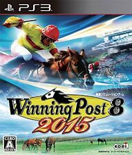 PS3 Winning Post 8 2015 Horse Racing Japan ver. import from Japan NEW!!