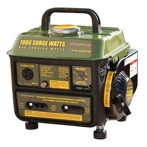 Sportsman GEN1000 1000 Surge Watts Gasoline Portable Portable Generator