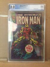 Iron Man #1 PGX 8.0 Not CGC