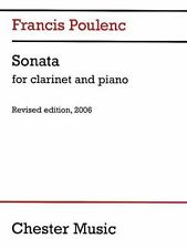 Francis Poulenc: Sonata For Clarinet & Piano (Music Sales America)