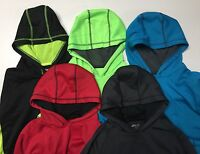 BCG Boys' Performance Fleece Hoodie mesh lined with Antipilling Wicking NWT.