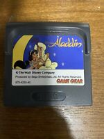 Game Gear ALADDIN Cartridge Only Sega Import JAPAN Game gg
