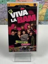 SHIPS SAME DAY Viva La Bam, Vol. 4 (UMD, 2008) Video Movie PSP Playstation Sony