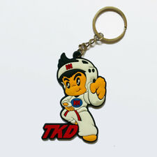 Tkd Cartoon Style Key Ring Martial Arts Budo Keychain 5 Anhängermodelle
