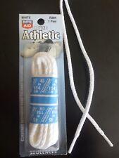 "45"" White (ROUND) Athletic Shoelaces R284 Shoe Lace"