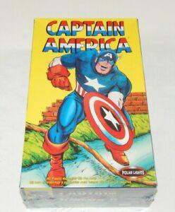 Polar Lights 2004 Captain America Model #4104 New  In Box Factory Sealed