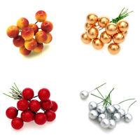 12pcs/set DIY Christmas Simulation Berry Small Particles Artificial fruit bra JR