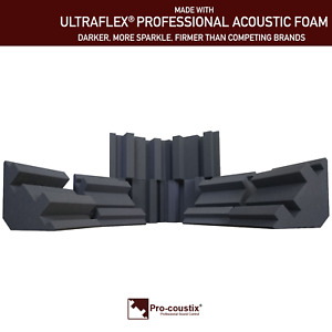 Genuine Pro-coustix Ultraflex High Performing Bass Traps 300mm x8 Traps
