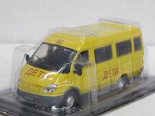 WOLGA GAZ 322121 Schulbus-- gelb-- 1/43--IXO/IST/Kultowe Auta PRL--NEU--OVP