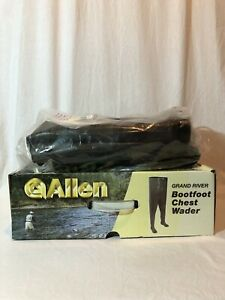 Allen Grand River Bootfoot Chest Waders Mens Size 8 Foam Insulated Boot #11818