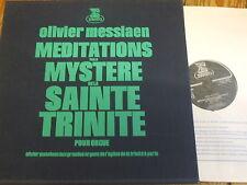 STU 70750/751 Messiaen Meditations sur le Mystere de la Sainte Trinite 2 LP set