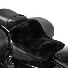 Lammfell Sitzkissen für Harley Davidson Road Glide Ultra Sitzbank Auflage