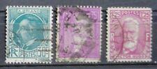 1933  CELEBRITES   N° 291 à 293  OBLITERES