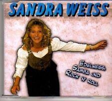 (BH225) Sandra Weiss, Edelweiss Samba und Rock N R - CD
