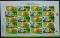 Korea Süd 2006 Fußball WM Soccer World Cup Deutschland 2522-23 Kleinbogen MNH