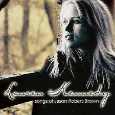 Lauren Kennedy CD Songs of Jason Robert Brown PS Classics