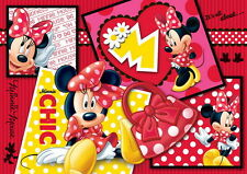 500 pièces puzzle, Minnie collage, trefl 37159