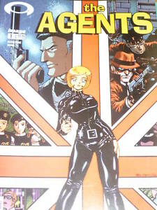 THE AGENTS - No 1 - 04/2003 - Image Comic
