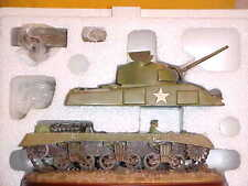 "GI JOE COLLECTIBLES ""THE SHERMAN"" Very hard to firnd in Box"
