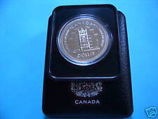 THRONE OF SENATE 25TH CANADA 1977 SILVER DOLLAR COIN
