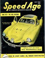 Speed Age Magazine July 1952 Haller Taifun GD No ML 052117nonjhe