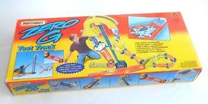Vintage 1995 Matchbox Lesney Superfast ~ ZERO G - TEST TRACK ~ Box Instructions