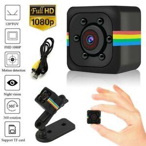 Mini Hidden DVR Spy Camera HD 1080P Night Vision IP Home Security Wireless Dash