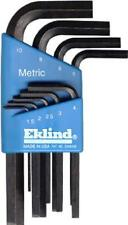 EKLIND 10509 9 PC SHORT METRIC ALLEN HEX KEY WRENCH SET USA MADE NEW