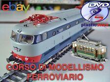 Modellismo Ferroviario Diorama Manuale oltre 700 pagine in Italiano (1DVD)
