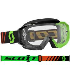 SCOTT MX Hustle Motocross Lunettes de protection noir / Fluo Vert