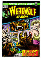 WEREWOLF BY NIGHT #12 in VF condition a 1973 Marvel Bronze Age comic