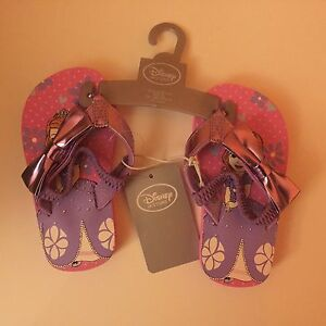 Disney - Sophia The First Little Girls Sandals Size 5/6 - Pink And Purple
