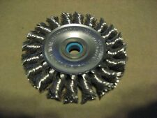 Weiler 08274 3X.020X1/2-3/8 Wire Wheel (Aa4493-1)