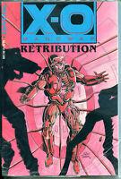 X-O MANOWAR RETRIBUTION gn + Database comic, NM, TPB, 1993, 1st, sealed