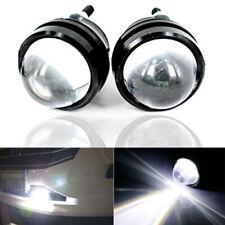 2x White 15W 12-24V CREE High Power Bull Eye LED DRL Projector Daytime Fog Light