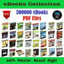 300,000+ eBooks Mega-Pack Pdf Plr Categories With Full Resell Rights 14Gb+!