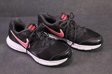 Sb377 nike downshifter 6 zapatillas calzado deportivo negro blanco talla 40,5 zapatillas