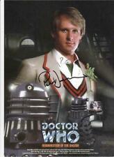 More details for dr/doctor who-  ressurection of the daleks - autographed print - peter davison