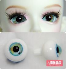 14mm  For BJD DOD AOD MK OK RD Doll Dollfie Glass Eyes Outfit light green 01