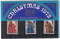 GB Presentation Pack 44 1972 Christmas