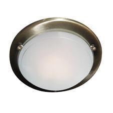 Searchlight 12in Ottone Moderno Metallo Vetro Montaggio a filo luce ad incasso da soffitto