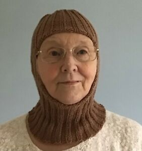 3 in 1 Balaclava Brown. Proceeds  to Cancer Research