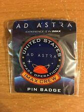AMC IMAX AD Astra Pin Badge United States US Space Operations Badge