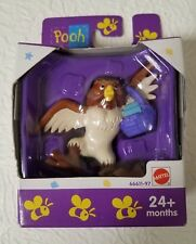 WINNIE THE POOH OWL COLLECTIBLE DISNEY FIGURE BY MATTEL 24+ MONTHS NEW UNOPENED
